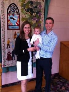 Baptism at Harcourt